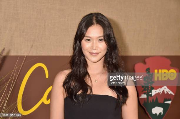 Dianne Doan attends HBO's Los Angeles premiere of Camping at Paramount Studios on October 10 2018 in Hollywood California