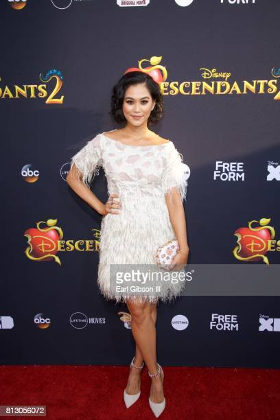 Dianne Doan attends the Premiere Of Disney Channel's Descendants 2 at The Cinerama Dome on July 11 2017 in Los Angeles California