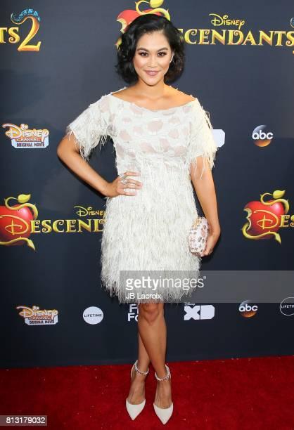 Dianne Doan attends the premiere of Disney Channel's 'Descendants 2' on July 11 2017 in Los Angeles California