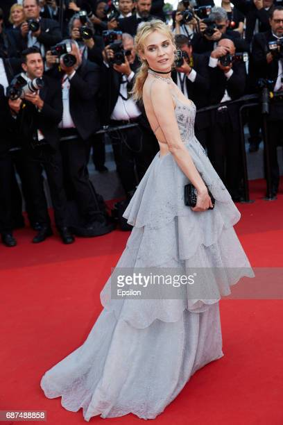 Dianne Kruger attends the 70th Anniversary of the 70th annual Cannes Film Festival at Palais des Festivals on May 23 2017 in Cannes France