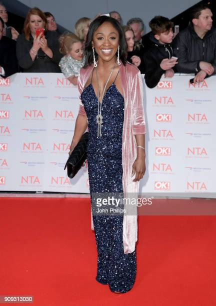 Dianne Parrish attends the National Television Awards 2018 at the O2 Arena on January 23 2018 in London England