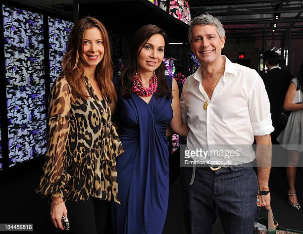 Dianne Vavra Fabiola Beracasa and Carlos Souza attend Fabiola Beracasa's celebration of Anselm Reyle for Dior with celebrity nail stylist Tracy Lee...