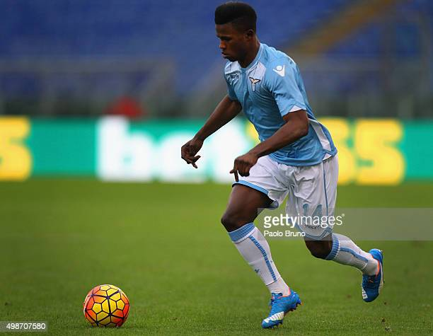 Diao Keita Balde of SS Lazio in action during the Serie A match between SS Lazio and US Citta di Palermo at Stadio Olimpico on November 22 2015 in...