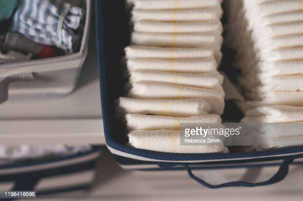 diaper container - dolly fox stock pictures, royalty-free photos & images