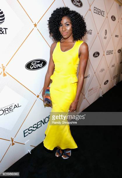 Diarra Kilpatrick attends the 2018 Essence Black Women In Hollywood Oscars Luncheon at Regent Beverly Wilshire Hotel on March 1 2018 in Beverly Hills...