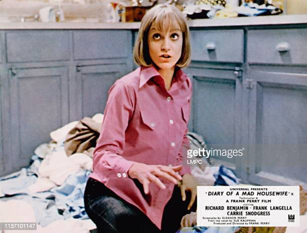 Diary Of A Mad Housewife lobbycard Carrie Snodgress 1970