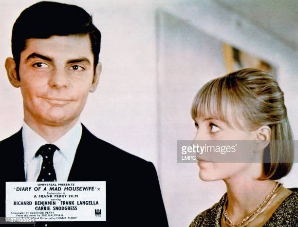Diary Of A Mad Housewife lobbycard from left Richard Benjamin Carrie Snodgress 1970