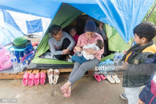 Diavata refugee camp in ThessalonikiGreece Former Anagnostopoulou military camp is hosting since 2016 refugees There are organized facilities but due...