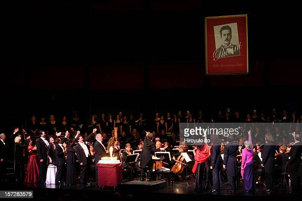 Dicapo Opera Theater presents Puccini 150th Anniversary Gala Concert at the Rose Theater on Monday night December 22 2008This imageThe conductor...