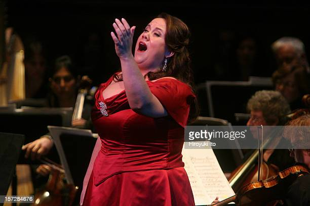 """Dicapo Opera Theater presents """"Puccini 150th Anniversary Gala Concert"""" at the Rose Theater on Monday night, December 22, 2008.This image;Julianna Di..."""
