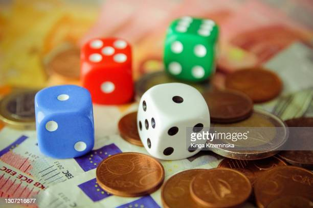 dice - bad luck stock pictures, royalty-free photos & images