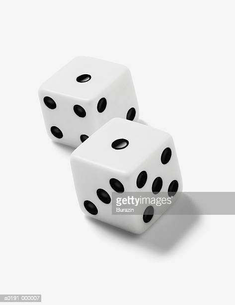 dice - pair stock pictures, royalty-free photos & images