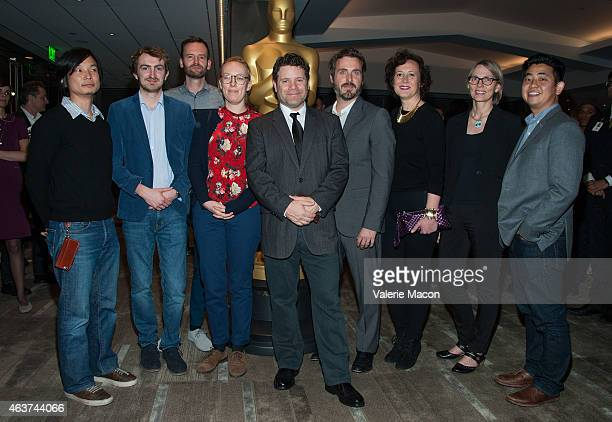 Dice Tsutsumi Christopher Hees Joris Oprins Daisy Jacobs Sean Astin Patrick Osborne Kristina Reed Torill Kove and Robert Kondo attend the 87th Annual...