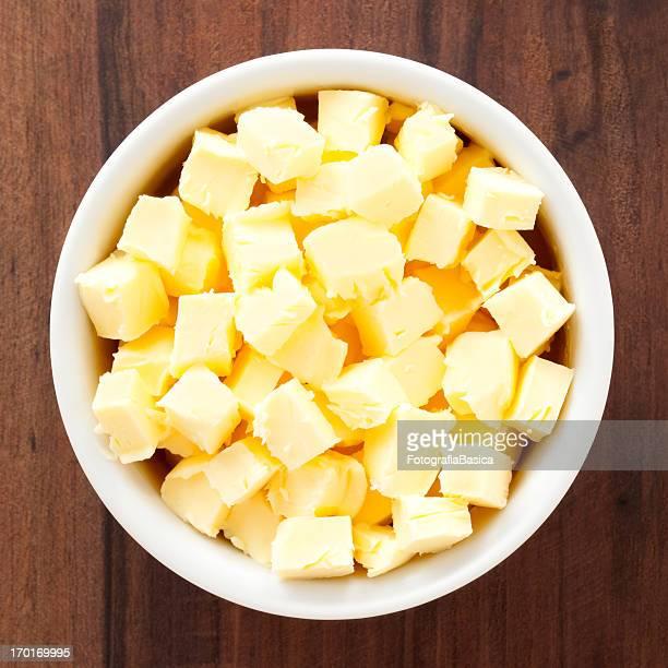 Gewürfelte butter