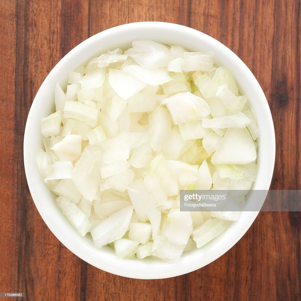 Diced onion : Stock Photo