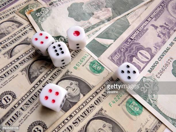 Dices games with money
