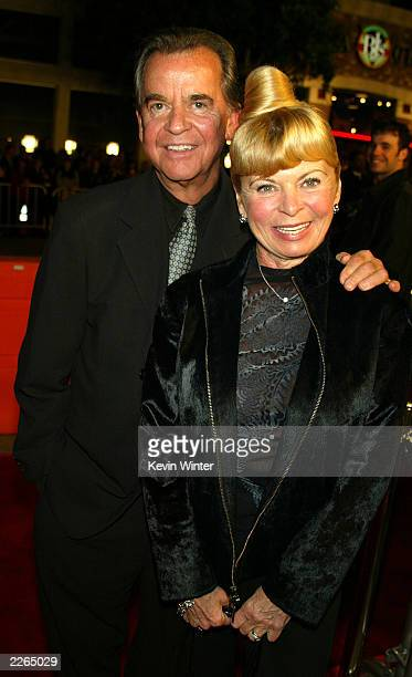 Dick and Kari Clark at the premiere of Confessions of a Dangerous Mind at the Bruin Theatre and afterparty at the W Hotel in Los Angeles Ca Wednesday...