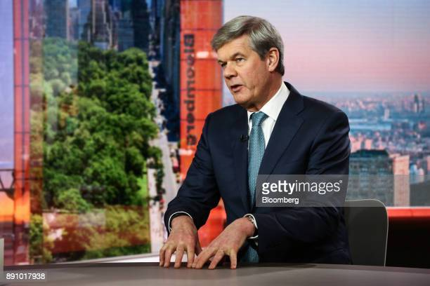 Dick Boer chief executive officer of Koninklijke Ahold Delhaize NV speaks during a Bloomberg Television interview in New York US on Tuesday Dec 12...