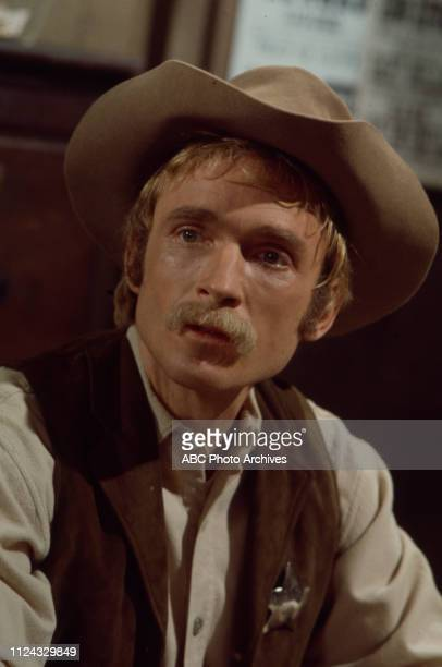 Dick Cavett appearing in the Walt Disney Television via Getty Images series 'Alias Smith and Jones' episode '21 Days to Tenstrike'.