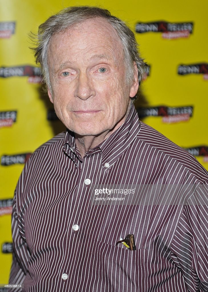 Dick Cavett attends 'Penn & Teller On Broadway' at Marquis Theatre on July 12, 2015 in New York City.