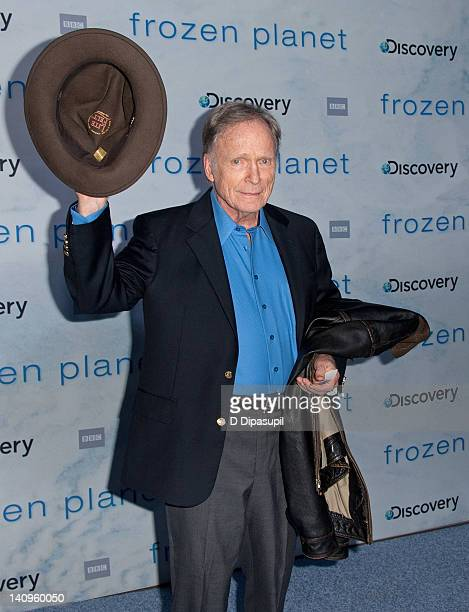 """Dick Cavett attends the """"Frozen Planet"""" premiere at Alice Tully Hall, Lincoln Center on March 8, 2012 in New York City."""