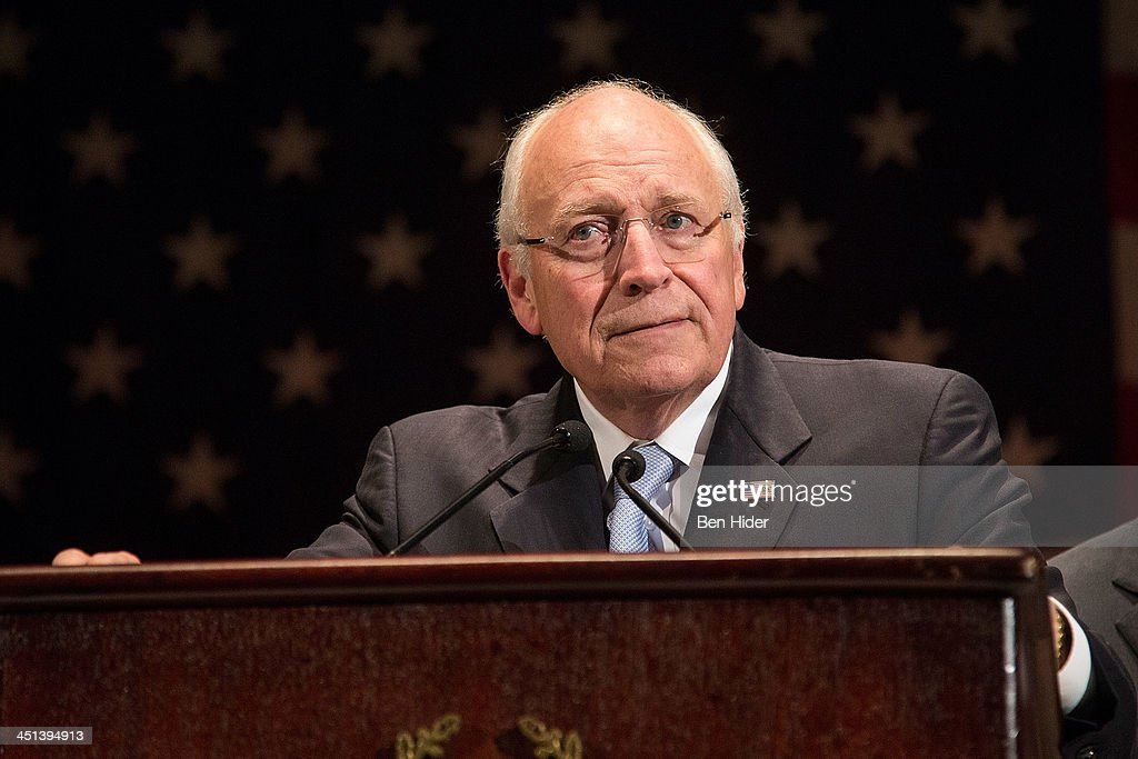 Dick Cheney attends 2013 Federal Law Enforcement Foundation Luncheon at The Waldorf=Astoria on November 22, 2013 in New York City.