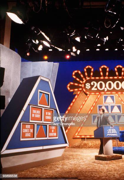 PYRAMID Dick Clark 5/8/79 Dick Clark hosted this word game describing a particular word or subject played against the clock Two teams competed...