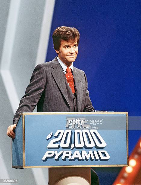 PYRAMID Dick Clark 7/27/78 On '$20000 Pyramid' a contestant and a celebrity guest selected one category of six on a pyramidshaped board and playing...