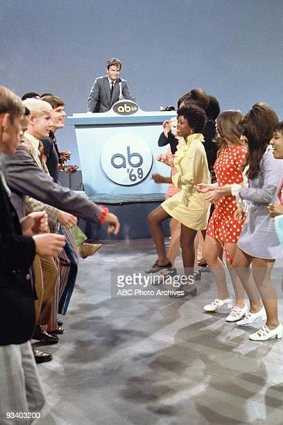 BANDSTAND Dick Clark 9/13/1969 Dick Clark hosts 'American Bandstand' the most popular dance show of alltime The program provided audiences with...