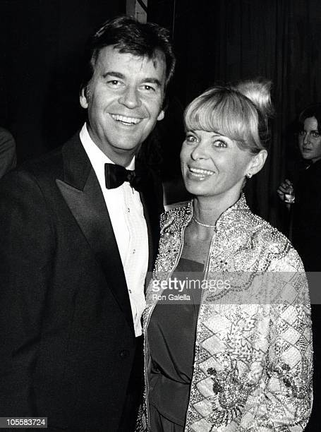 Dick Clark and Kari Clark during 1991 Academy of Country Music Awards at Shrine Auditorium in Los Angeles California United States