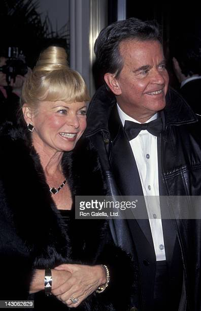Dick Clark and wife Kari Clark attend 40th Barbie Anniversary Gala on February 7 1999 at the Waldorf Astoria Hotel in New York City