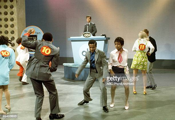 BANDSTAND 6/23/1969 Dick Clark hosts the dance contest on 'American Bandstand' the most popular dance show of alltime and the cornerstone of ABC's...