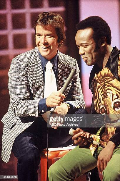 BANDSTAND 9/13/1969 Dick Clark interviews a guest on American Bandstand