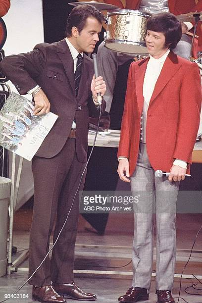 BANDSTAND 10/4/1969 Dick Clark interviews lead singer Pat Upton of Spiral Starecase who perform 'I Love You More Than Yesterday' on American Bandstand