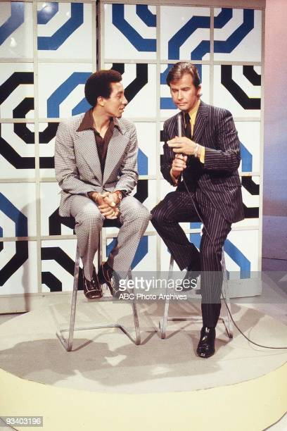 BANDSTAND 9/13/1969 Dick Clark interviews Smokey Robinson lead singer of Smokey Robinson the Miracles who sing 'Baby Baby Don't Cry'