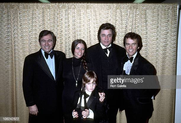 Dick Clark Johnny Cash June Carter Cash and son