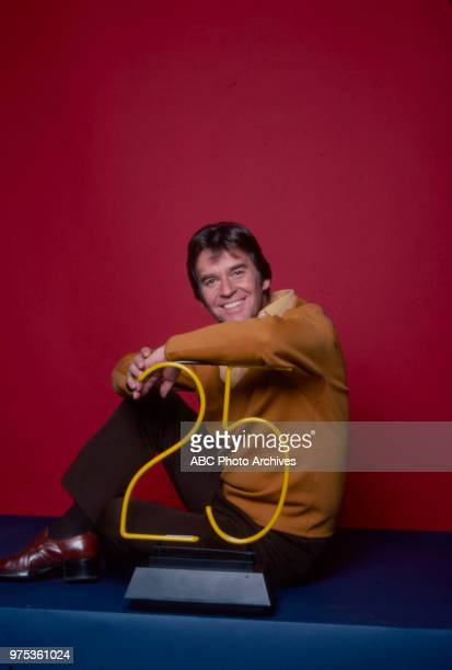 Dick Clark promotional photo for 25th anniversary of 'American Bandstand'