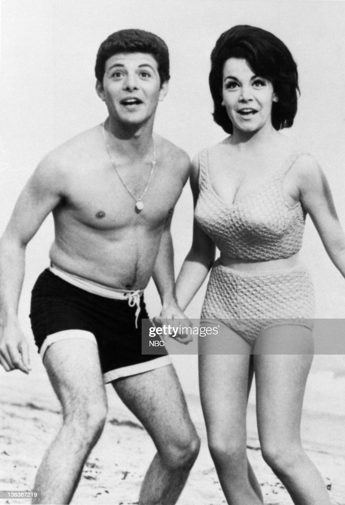 EVENT -- 'Dick Clark's Good Ol' Days: From Bobby Sox to Bikinis' -- Pictured: (l-r) Frankie Avalon, Annette Funicello