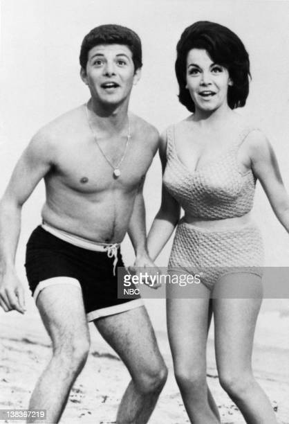EVENT 'Dick Clark's Good Ol' Days From Bobby Sox to Bikinis' Pictured Frankie Avalon Annette Funicello