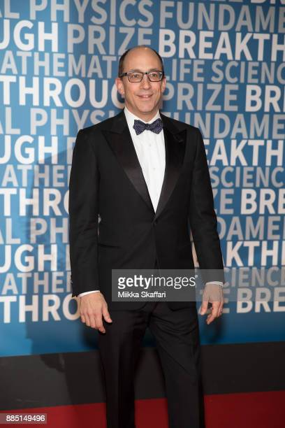 Dick Costolo arrives at the 2018 Breakthrough Prize at NASA Ames Research Center on December 3 2017 in Mountain View California