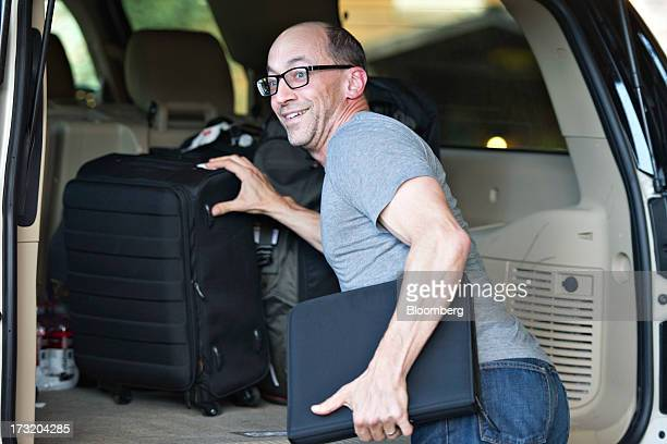 Dick Costolo chief executive officer of Twitter Inc arrives at the Allen Co Media and Technology Conference in Sun Valley Idaho US on Tuesday July 9...