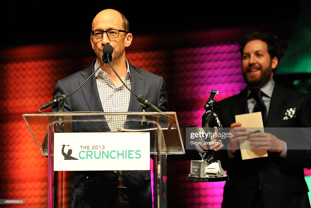 Dick Costolo of Twitter wins the CEO of the Year award at the 7th Annual Crunchies Awards at Davies Symphony Hall on February 10, 2014 in San Francisco, California.