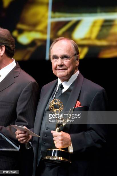 Dick Enberg during 28th Annual Sports EMMY Awards at Frederick P. Rose Hall at Lincoln Center in New York City, New York, United States.