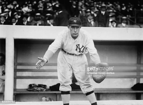 Dick Gossett Major Leagues Baseball Player New York Yankees Portrait circa 1913
