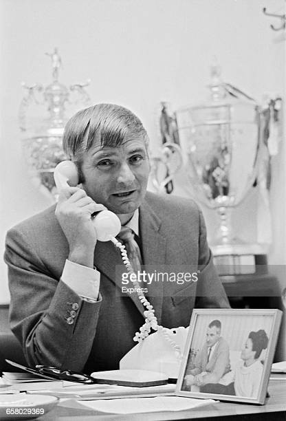 Dick Graham manager of Colchester United FC UK 12th August 1971