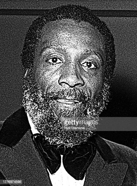 Dick Gregory backstage during M.L.K Gala at The Atlanta Civic Center in Atlanta Georgia, January 13, 1982 (Photo by Rick Diamond/Getty Images