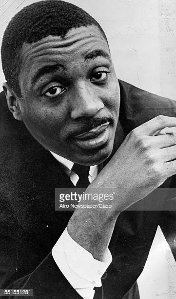Dick Gregory comedian and satirist looking at the camera November 4 1964