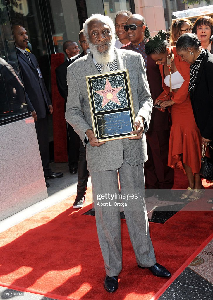 Dick Gregory Honored On The Hollywood Walk Of Fame