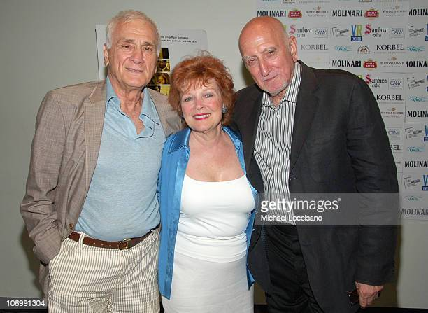 Dick Latessa Anita Gillette and Dominic Chianese during The Great New Wonderful Red Carpet Premiere at Angelika Theatre in New York City New York...