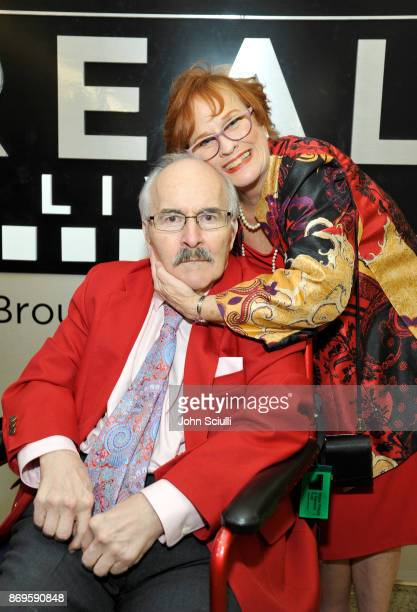 Dick McCoy and Mary McCoy at the 6th Annual Reel Stories Real Lives event benefiting MPTF at Milk Studios on November 2 2017 in Hollywood California